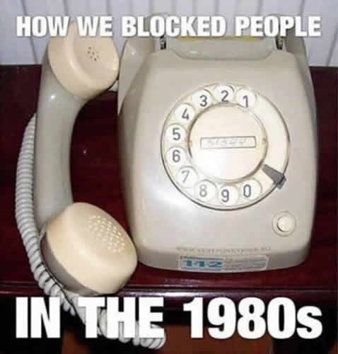 Blocked Call Eighties picture
