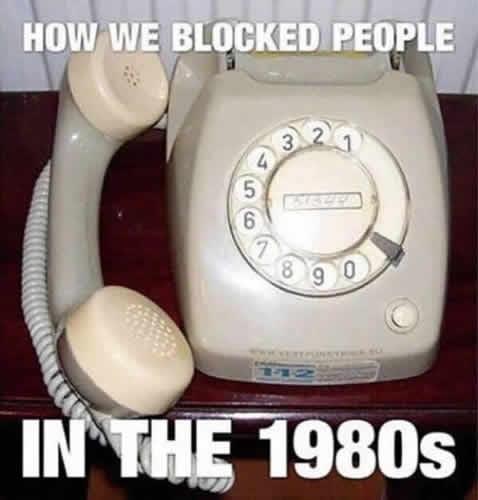 Blocked Call Eighties picture